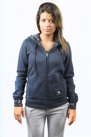 Colore Blu Champion Heritage Full Felpa Donna Exclusive Zip exrdCBoW