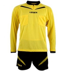 Kit referee blue and black