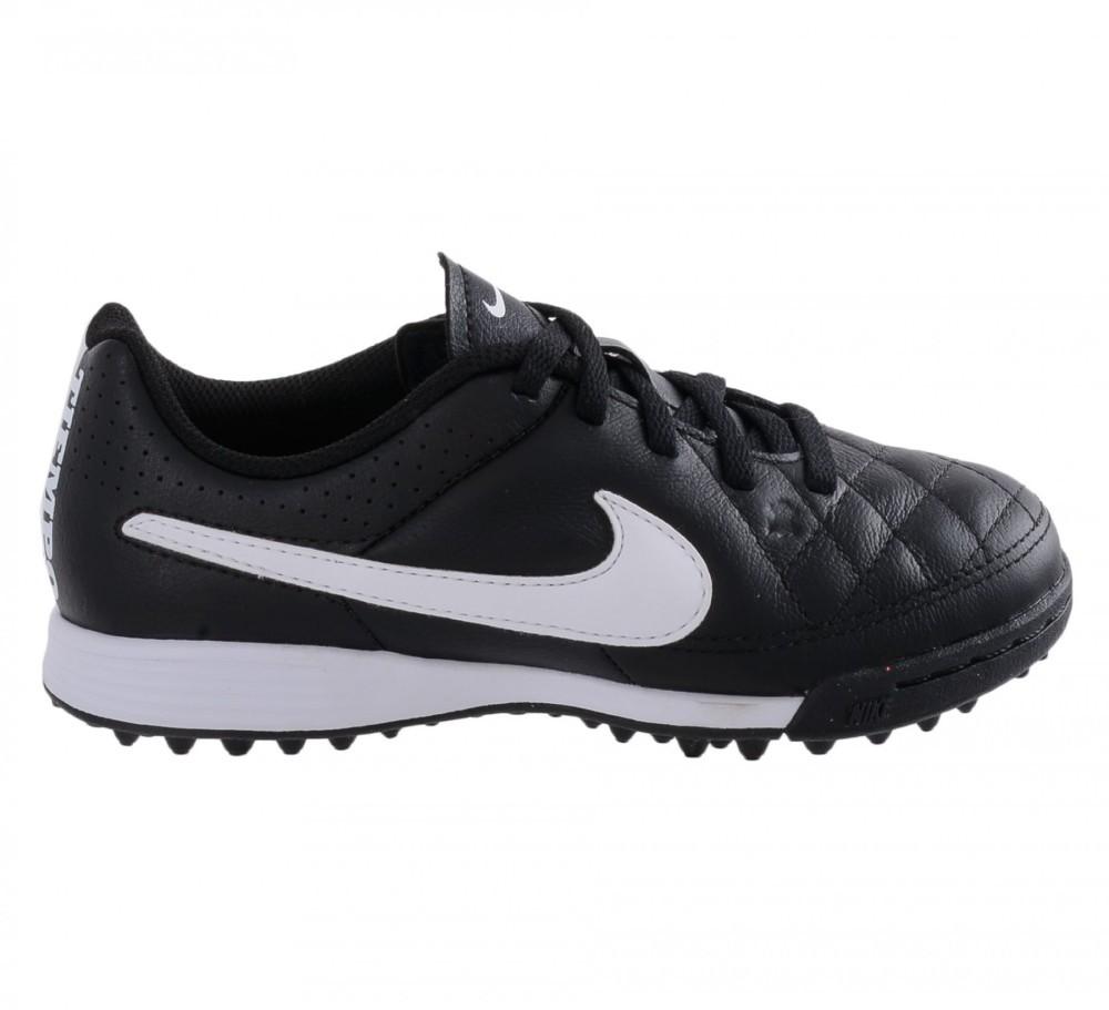 size 40 10ec3 2ba09 Dettagli su Scarpe Calcetto Bambino Nike Tiempo Genio Leather TF Nike