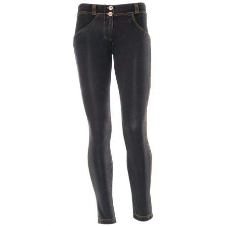 Pantaloni WR.UP 7/8 Shaping Effect Low Waist grigio