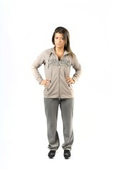 Tuta Paillettes Easy Full Zip