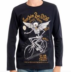 T-shirt Scheletro Leccalecca