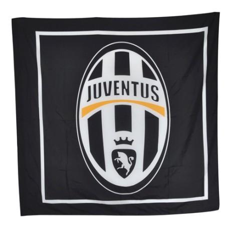 Bandiera Juventus Colore Bianco Nero Giemme Sportitcom