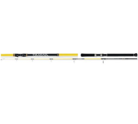 Canna da pesca Megaforce Jig 190MHS colore Nero Giallo - Daiwa ... 79e08c62612f