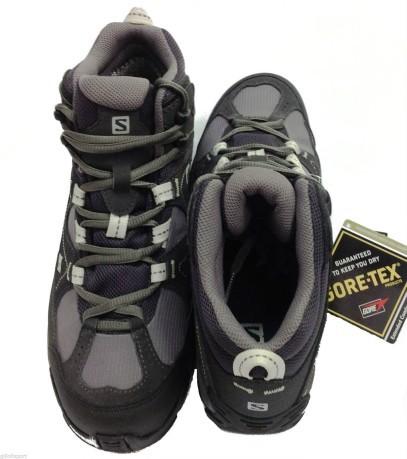Shoes woman Manila Mid GTX colore Grey - Salomon - SportIT.com a16dd6a612