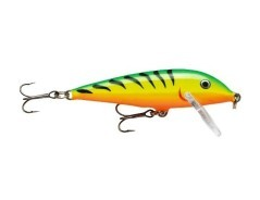 Rapala Countdown Gold Fluorescent Red