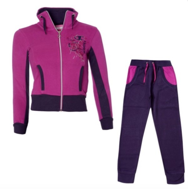 73a3aab3a09b Tuta bambina Champion Authentic Girl colore Viola - Champion - SportIT.com