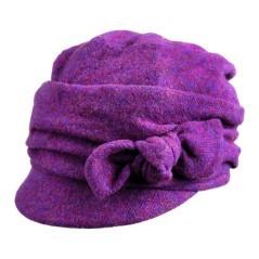 Berretto in lana con visiera di Marini Silvano