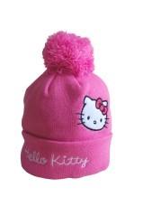 Il berretto con pompon di Hello Kitty