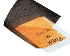 Wing foil arancio