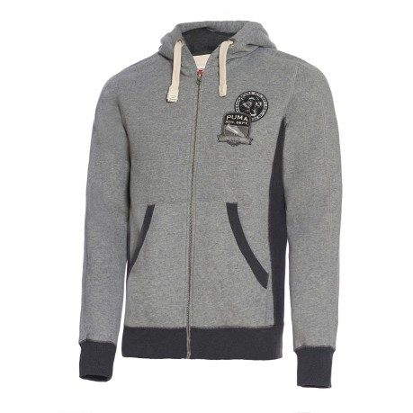 Felpa uomo Varsity Zip Through