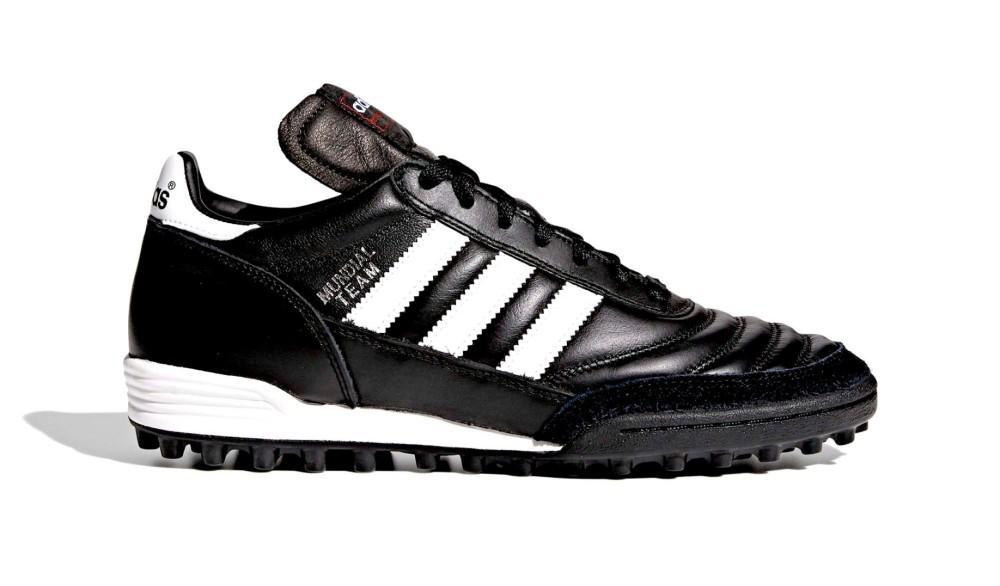reputable site fa0d3 542b6 ... calcio 18.3 fg mundial copa nero vera pelle 25a9f eded5  france scarpe  calcetto adidas mundial team tf adidas 48a0d d4e67