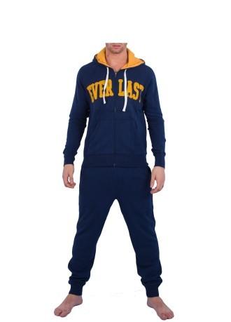 Tuta uomo con cappuccio colore Blu Blu - Everlast - SportIT.com 88e8d01f7a6