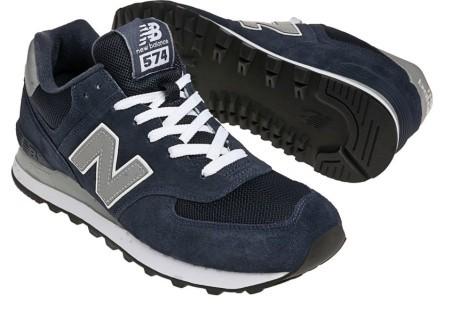 08d8f1012c2 La chaussure homme M574 Marine