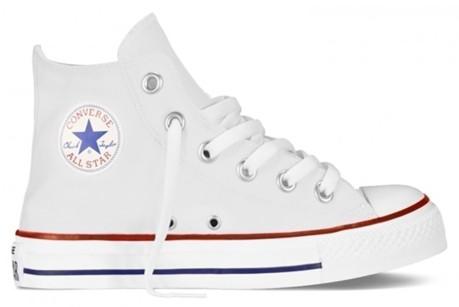 a405bf25ef218 Scarpa bambino All Star Hi Canvas Core colore White - All Star ...