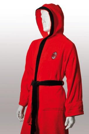 512c6884b8 Spugna S Milan colore Red Black - Uniontex - SportIT.com