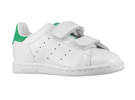 sports shoes 7f196 d9da2 Scarpa bambino Stan Smith colore White Green - Adidas - SportIT.com