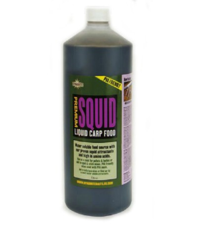 Premium Liquid Carp Food Squid 1L