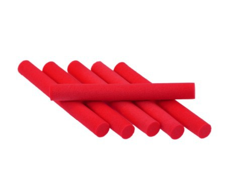 Foam Cylinders 5 mm Red