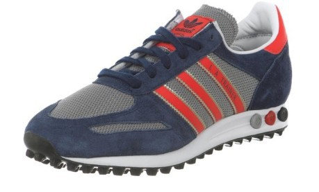 separation shoes c0eac bdf8b L.A. Trainer Adidas blu-rosso
