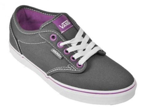 scarpe vans donna grigie