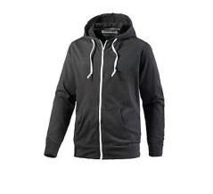 Core Basic Knit Zip Hoodie