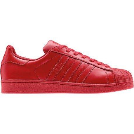 adidas superstar pharrell red