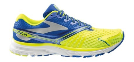 Running shoe man Launch 2 A2 colore Yellow Blue - Brooks - SportIT.com 57d52e465ab