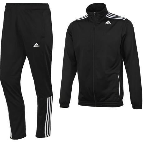 b7653e81b15f Tuta uomo Entry Tracksuit colore Black - Adidas - SportIT.com