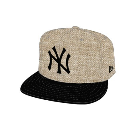 Cappello heather contrast 59fifty ny yankees