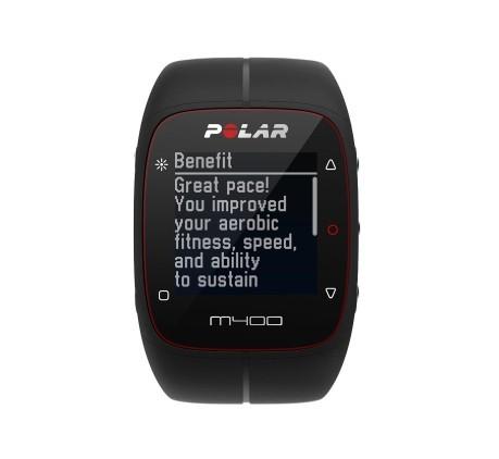 277de7da68 Heart rate monitor M400 HR + heart rate monitor colore Black - Polar ...