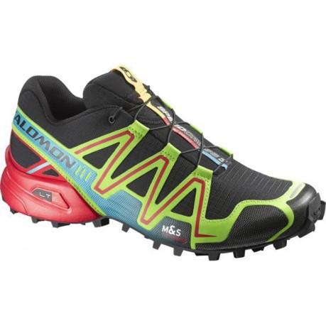 Trail shoe men Speedcross 3 colore Black - Salomon - SportIT.com 5341fc41098