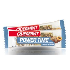 Barretta proteica power time quinoa e frutta 30 gr