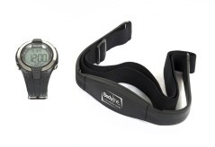 Heart rate monitor with strap