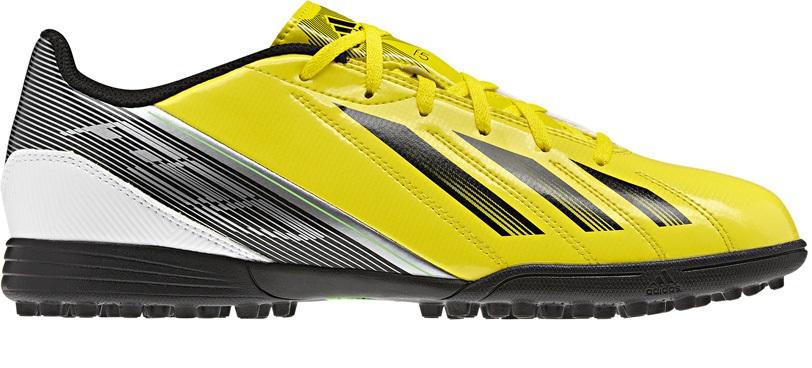 finest selection 6f508 cf09c Shoe soccer F5 TRX TF colore Yellow Black - Adidas - SportIT.com