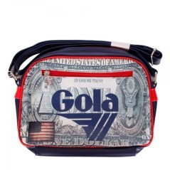 Borsa mini redford dollar cub 283 navy red