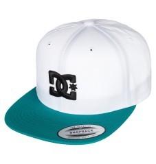 Cappello snappy bianco verde