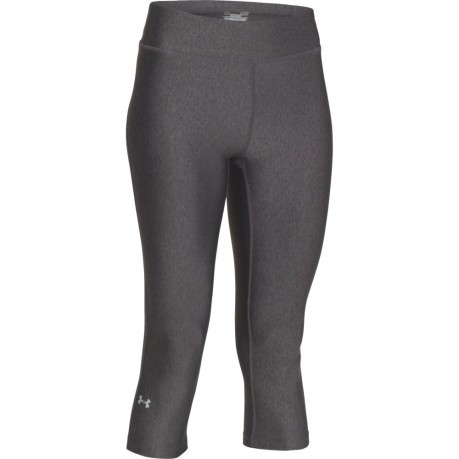 Under Armour UA HeatGear Armour Capri Black