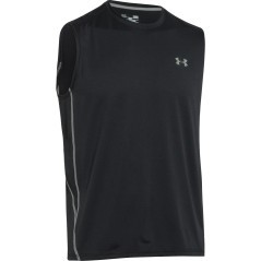 Under Armour UA Tech Sleeveless T-Shirt Black
