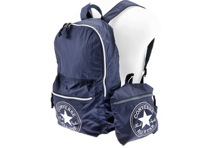 1b6345781ca0 Backpack Chuck Taylor Packable Nylon Core colore Blue - All Star ...