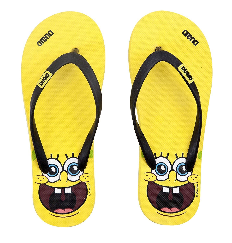 4d19db3ee37d Flip flops spongebob child colore yellow arena jpg 1431x1500 Spongebob flip  flops