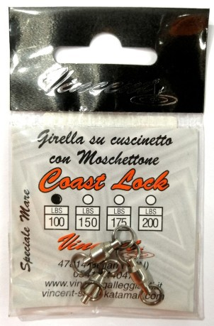 Vincent Girella Coast Lock 100 lb