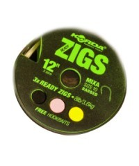 Ready Zigs Size 10 Barbed