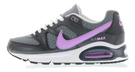 The shoe girl Air Max Command GS Mesh colore Grey Pink - Nike ... 3f5fd118e