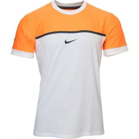t shirt nike arancione