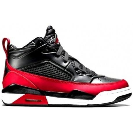 negozio del Regno Unito alta qualità varietà larghe Scarpa basket ragazzo Jordan Flight 9.5 BG colore Nero Rosso ...