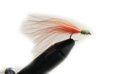 Streamer lago no bead orange yellow