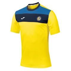 T-shirt Crew Yellow