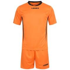 Completo calcio Dusseldorf Arancio