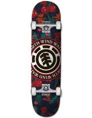 Skate Sketch Floral 8''